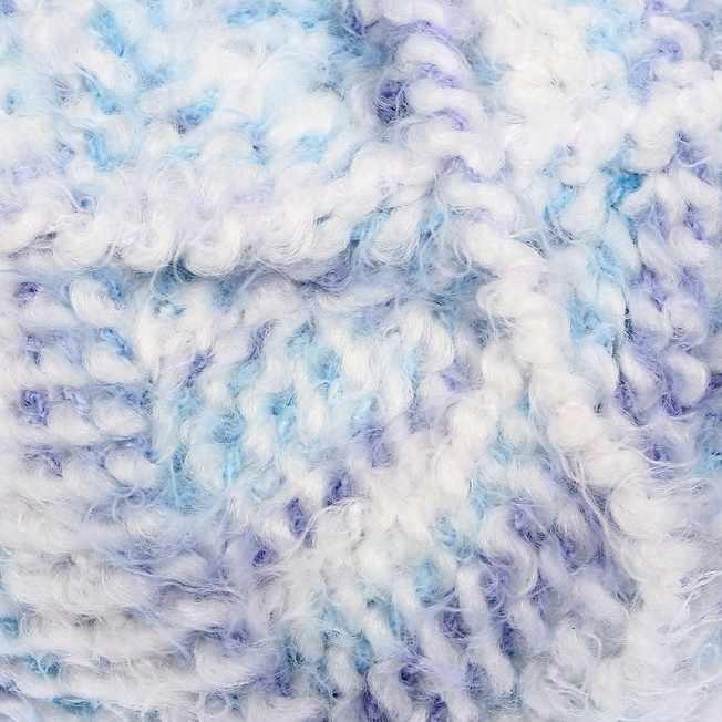Пряжа Камтекс Лотос травка стрейч Цвет.1 ЛТС 237/237 бел.голуб.
