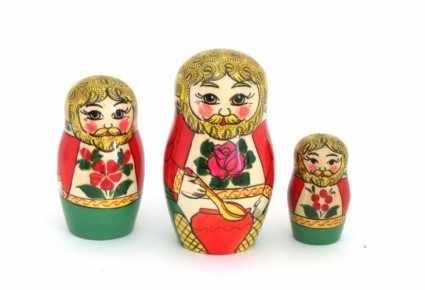 """04-079-000 Сувенир """"Домовой"""" 3-х предм."""