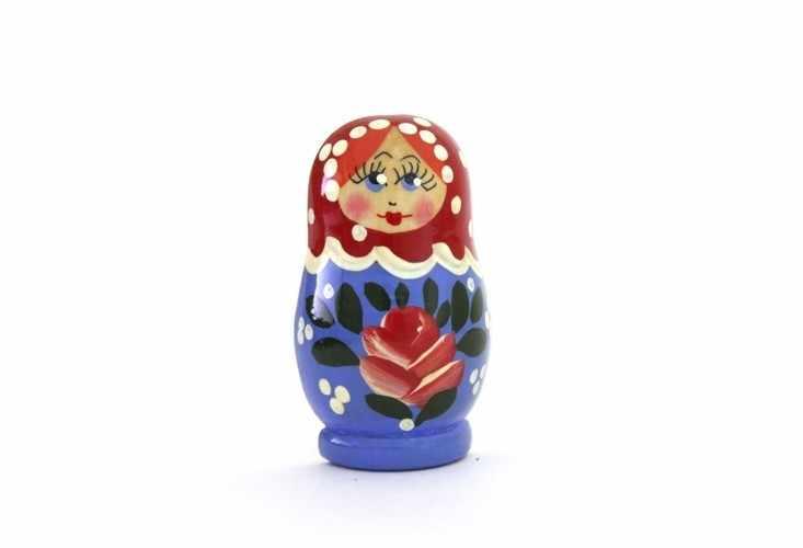 """04-061-011 Магнит """"Матрешка"""""""
