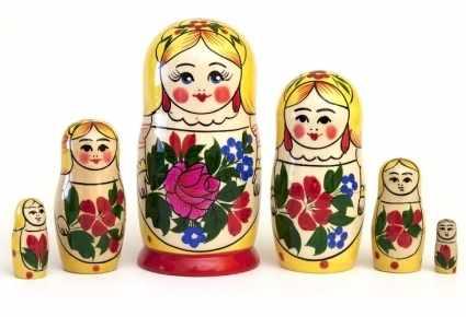"""01-022-000 Матрешка """"Сударушка"""" 6-кук."""