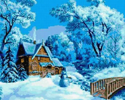 50016 Зимний дом