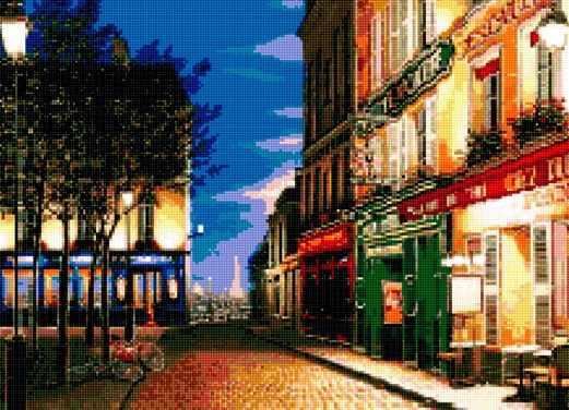 50026 Вечер в Париже