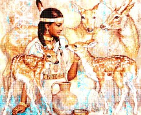 50055 Богиня оленей