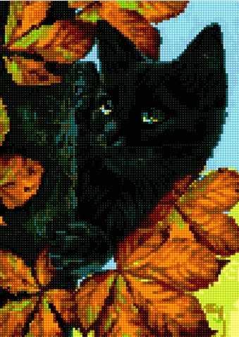 50061 Кот на дереве