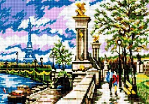 50062 Набережная в Париже