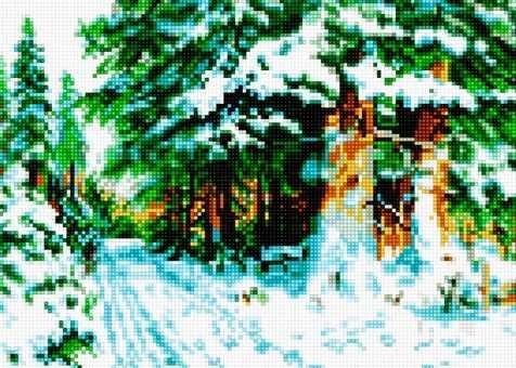 50066 Зимний лес