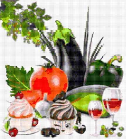 50096 Овощи и кексы