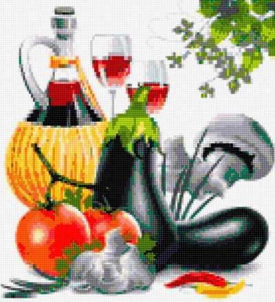 50097 Вино и овощи