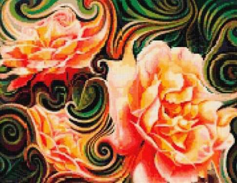 50136 Абстракция Розы