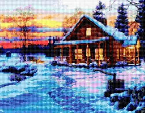 50156 Зимний домик