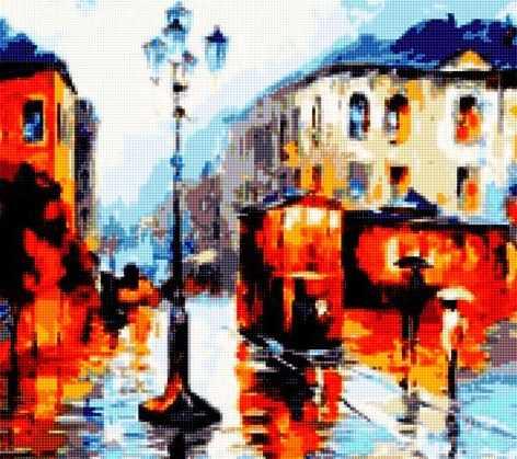 50173 Дождь и город