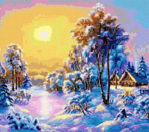 50182 Зимний вечер