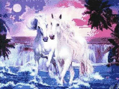 900461 Пара лошадей