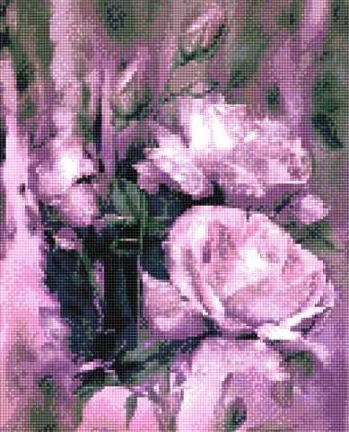 900902 Сиреневые розы