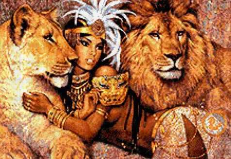 903603 Повелительница львов