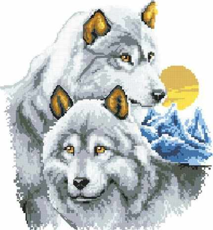 908402 Два волка