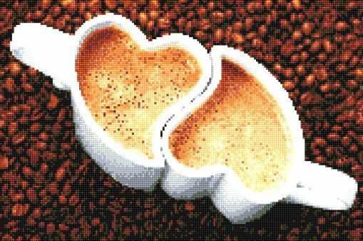 912901 Чашки с кофе