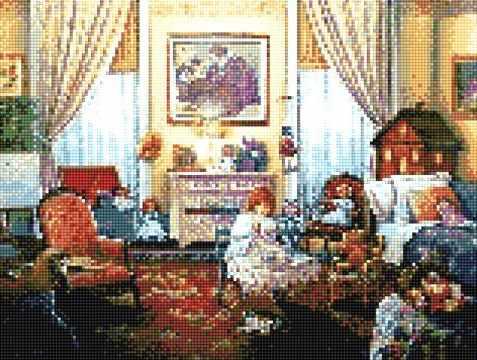 913101 Уютная гостиная