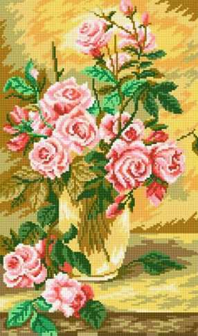 71016-68 Нежные розы