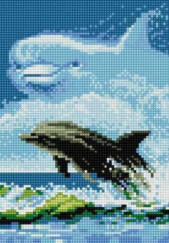 71022-11 Дельфин