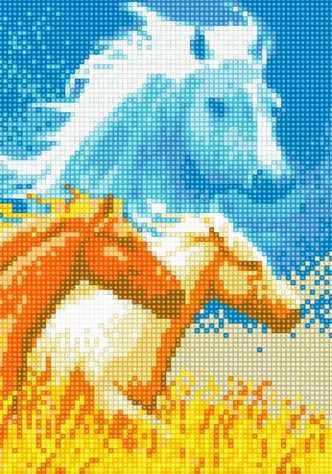 71022-14 Лошадь
