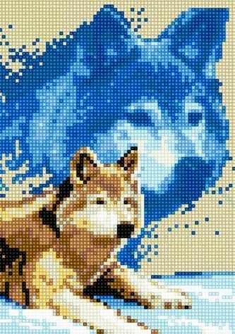 71022-16 Волк