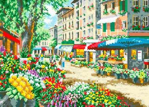 71032-03 Цветы Парижа
