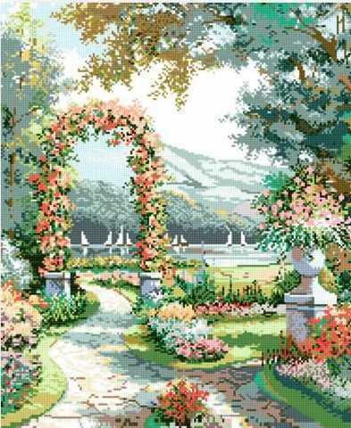 71032-19 Цветочная арка