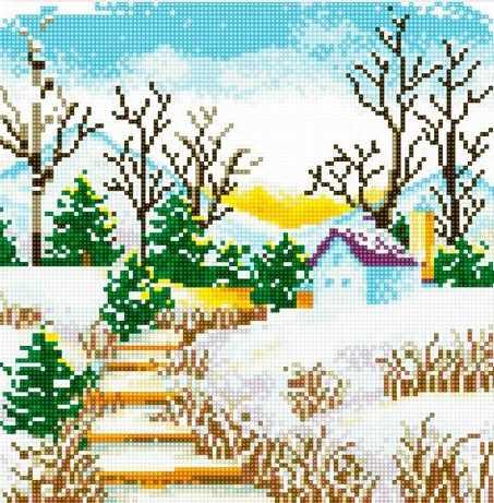 71033-04 Зимняя лестница
