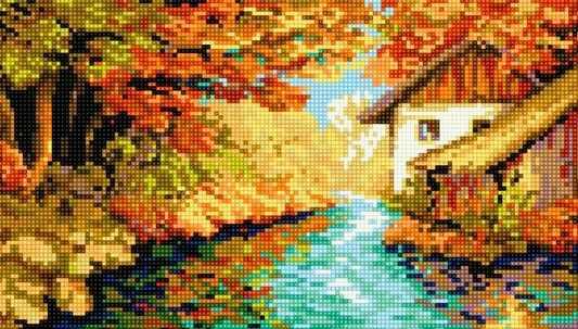 71033-06 Река по осени