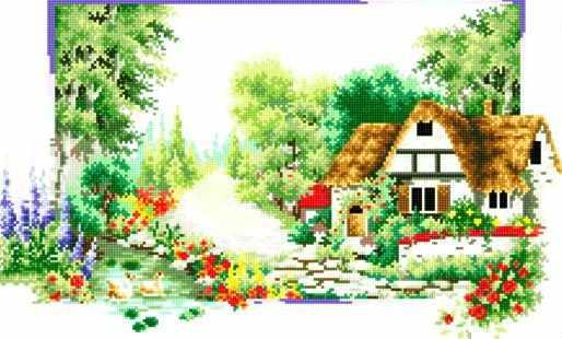 71033-36 Выходные весной в деревне