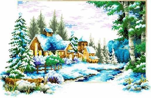 71033-38 Выходные зимой в деревне