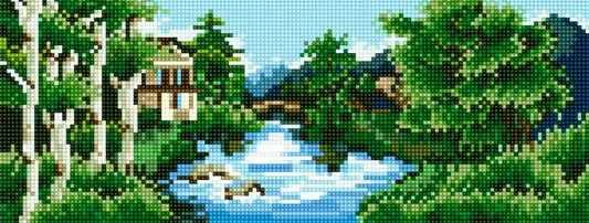 71033-42 Ели у реки