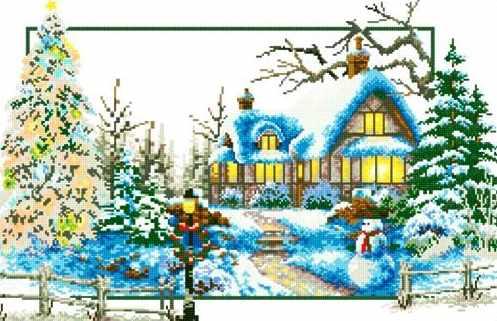 71033-68 В предвкушении Рождества