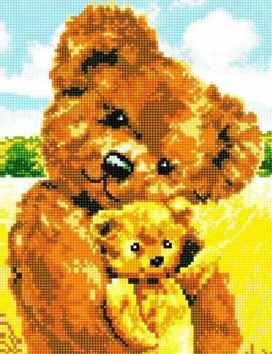 71035-51 Плюшевые медвежата