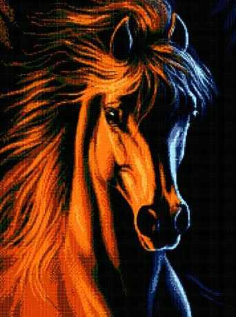 71040-32 Рыжий конь
