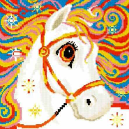 71040-51 Радужная лошадка