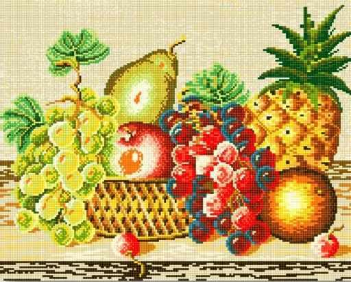 71045-09 Натюрморт с фруктами