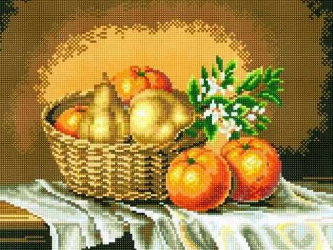 71045-22 Корзинка с апельсинами