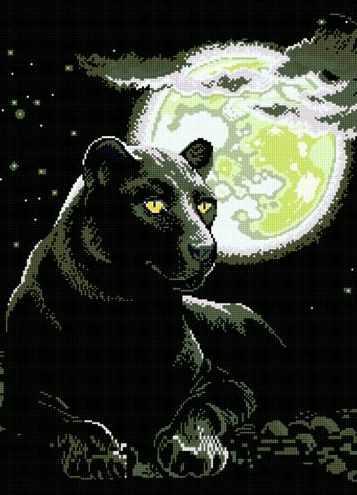 71048-51 Чёрная пантера