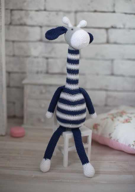 """2724098 Наборы для вязания амигуруми: Мягкая игрушка """"Жирафик Майлз"""""""