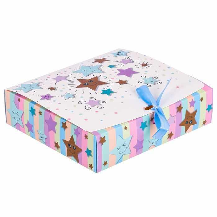 """3222436 Коробка подарочная """"Счастье"""""""