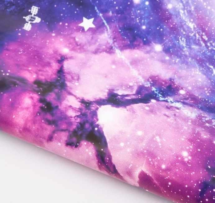 3413614 Бумага упаковочная глянцевая «Космос»