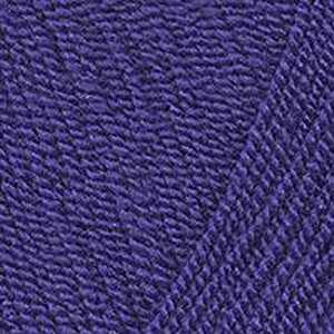 Пряжа Троицкая Акация Цвет.0034 Темно-фиолетовый