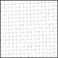 Канва Аида Венгрия цв. 100, белый, 11ct