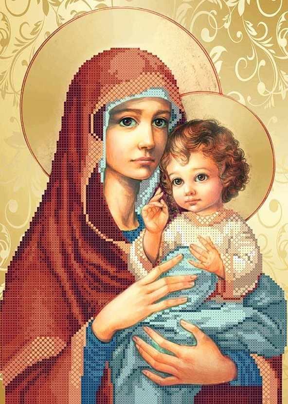 ММР-006 Дева Мария с младенцем