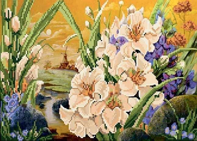 ММЦ-011 Сказочное цветение - схема для вышивания (MOSMARA)
