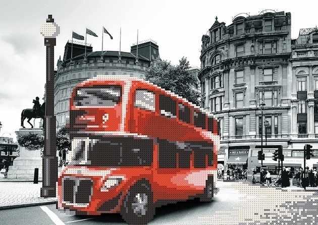 MMГП-002 Лондон. Красный автобус.