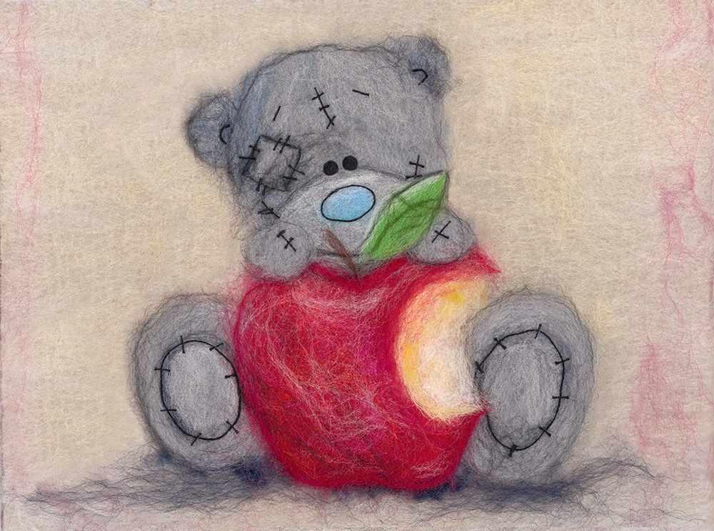"MTY-WA-0159 набор ""Таттии Тедди с яблочком"""