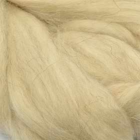 Пряжа Пехорка Шерсть для валяния полутонкая Цвет.530 Светло натуральный